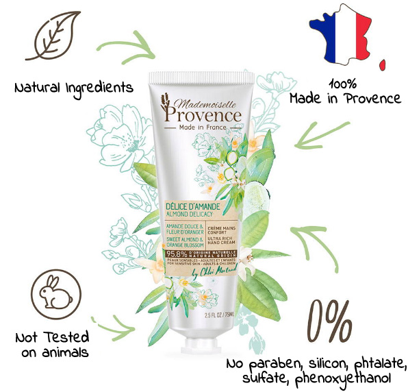 Mademoiselle Provence natural ingredients