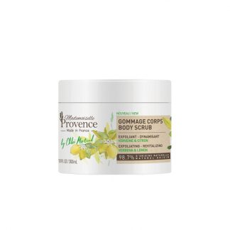 Verbena Lemon Body scrub no plastic micro beads