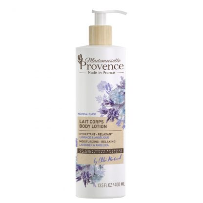Lavender Angelica Body Lotion Mademoiselle Provence Singapore