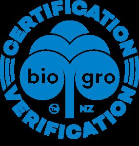New Zealand Organic logo